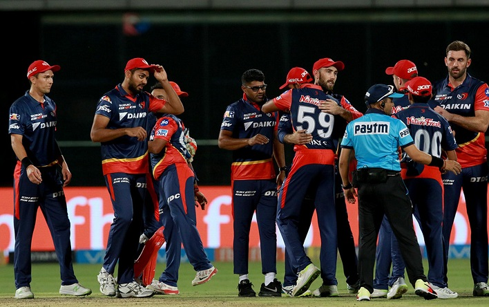Delhi Daredevils won by 4 runs DLS method