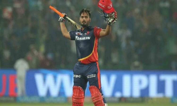ऋषभ पंत के धमाकेदार शतक के बदौलत दिल्ली ने SRH को दिया 188  रन का टारगेट Images