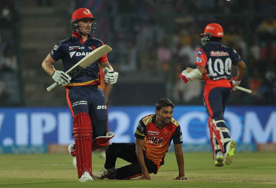 Delhi Daredevils Jason Roy In Action During An IPL 2018 Images