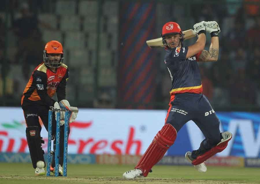 Delhi Daredevils Jason Roy In Action During An IPL Match 2018 Images
