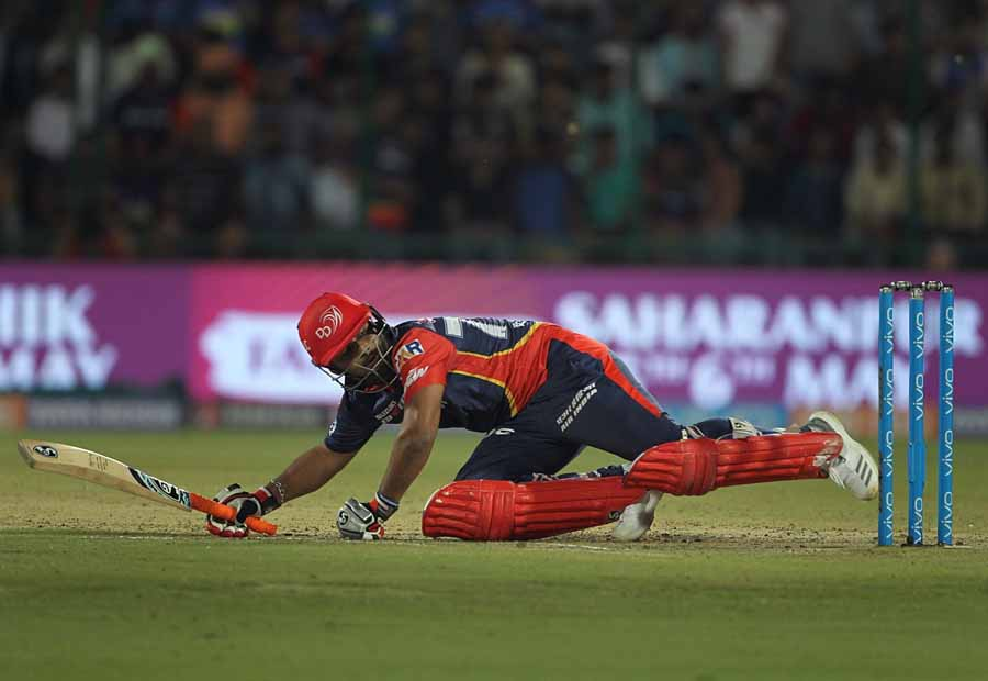 Delhi Daredevils Rishabh Pant In Action During An IPL 2018 Images