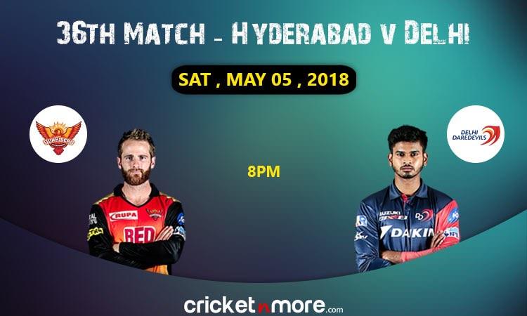 Delhi vs Hyderabad