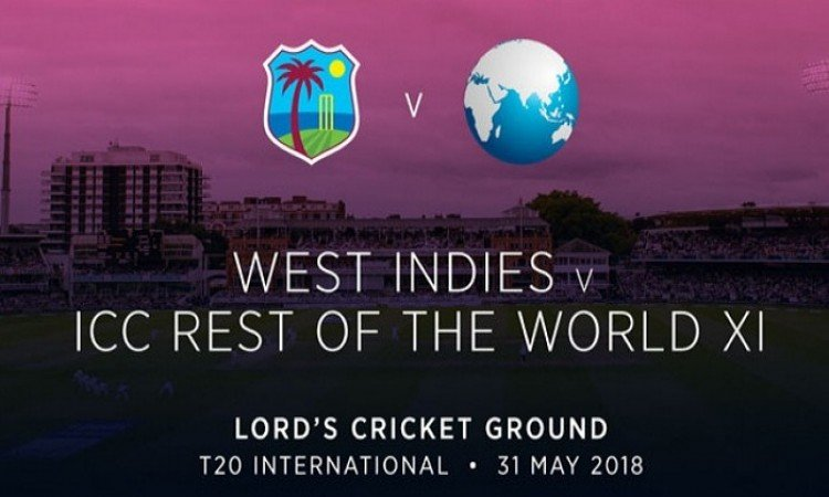WI to play World XI in Lord's charity T20 tie