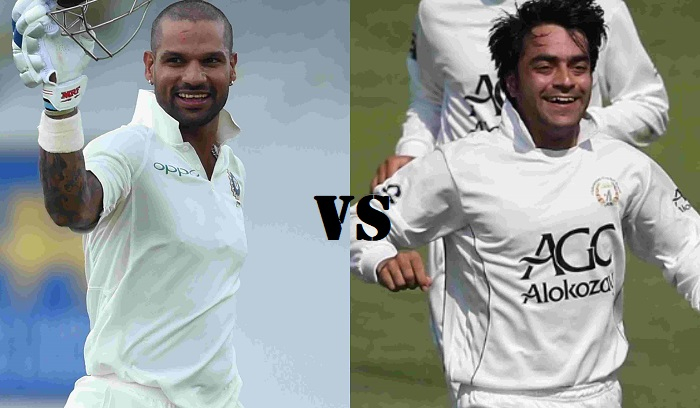 India vs Afghanistan test match squads