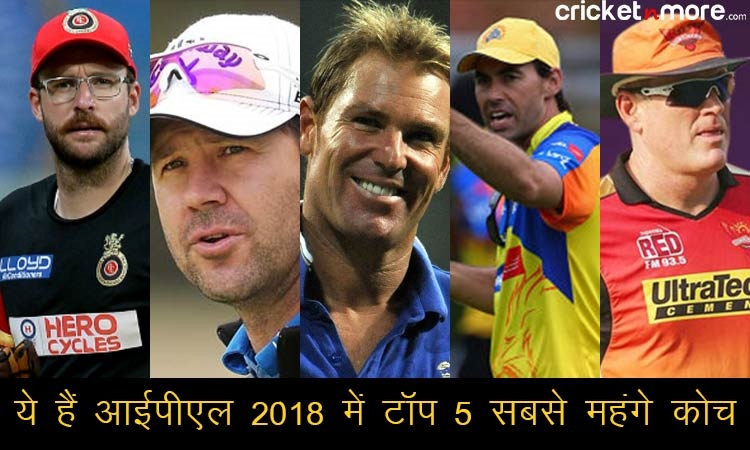 check salaries of the indian premier league coaches