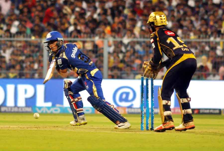 Ishan Kishan Of Mumbai Indians In Action During An IPL 2018 Images in Hindi
