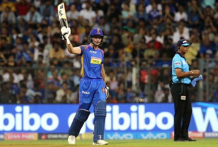 Rajasthan Royals beat Mumbai Indians by 7 wickets
