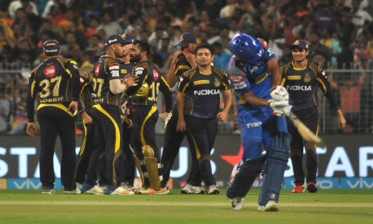 IPL 2018: All-round KKR see off Rajasthan Royals to make Qualifiers 2