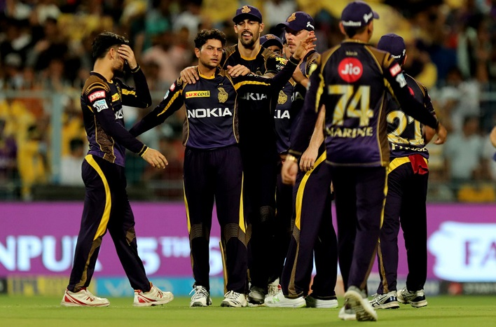 Indian premier league 2018 points table after 33 match