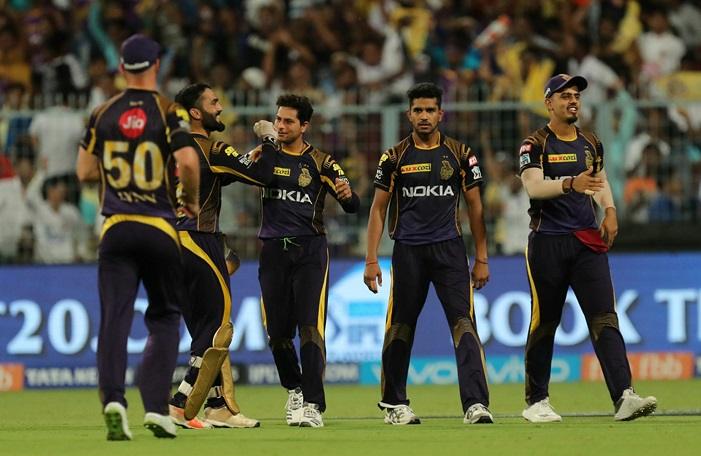 Indian Premier League 2018 points table after 49th match