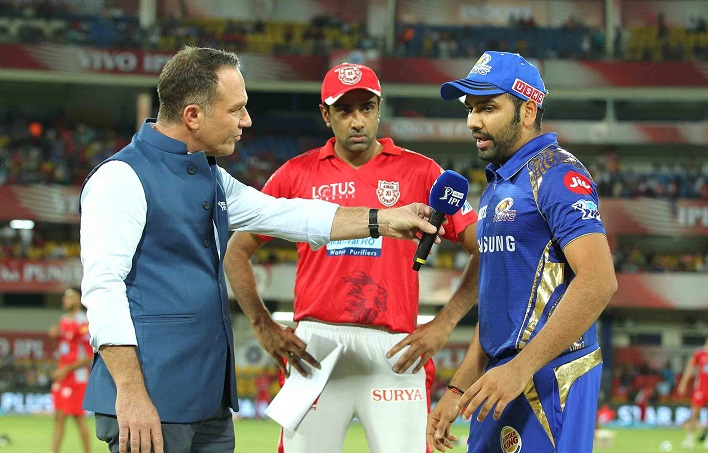 Mumbai Indians opt to bowl vs Kings XI Punjab