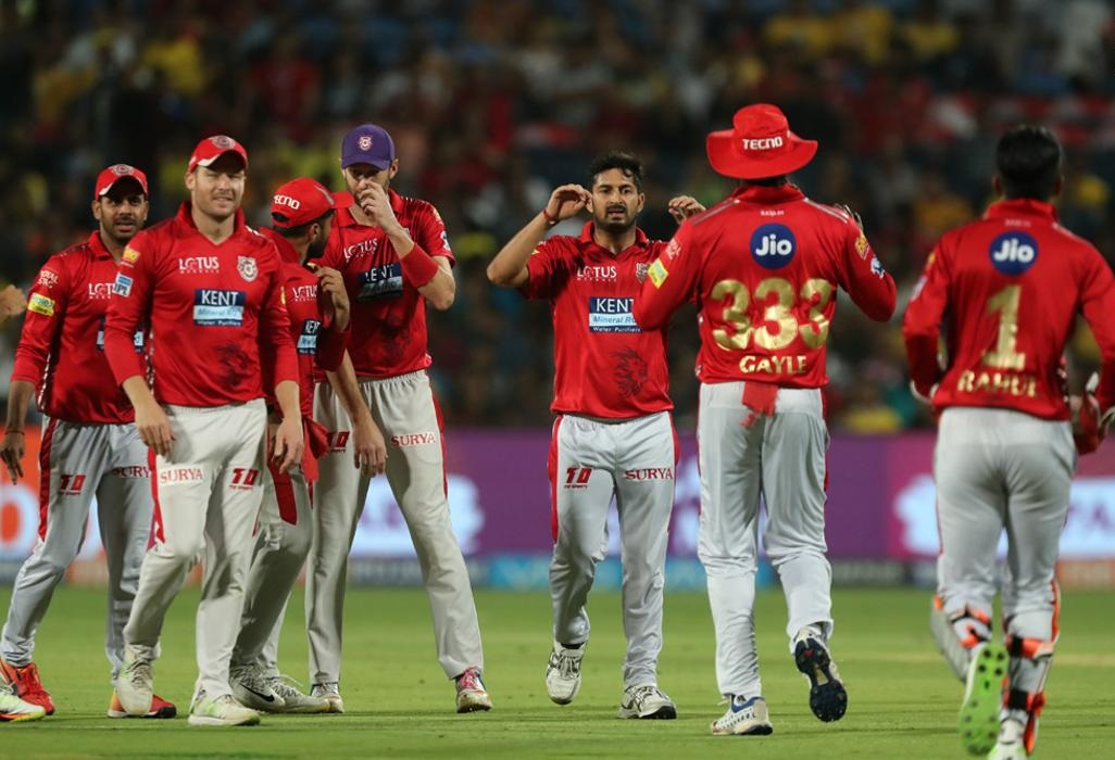 Kings XI Punjab out of IPL 2018