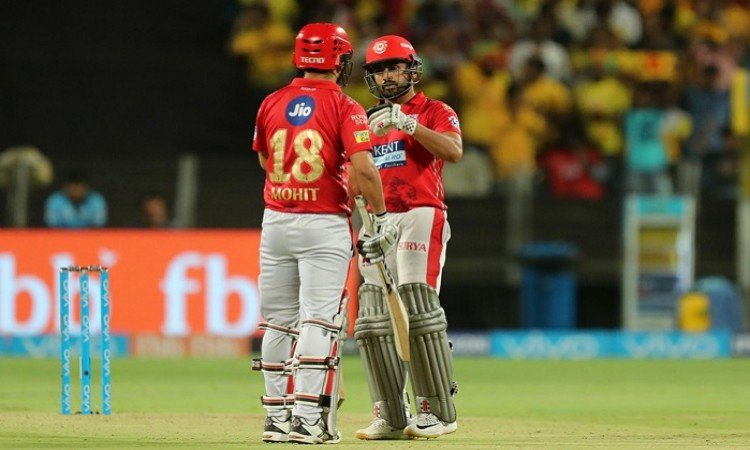 IPL 2018: Karun Nair's quickfire half-century lifts Punjab to 153 vs Chennai