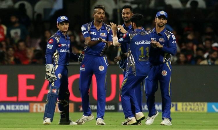 Royal Challengers Bangalore score 167/7 vs mumbai indians