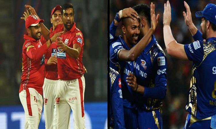 Mumbai Indians put Kings XI Punjab in to bat