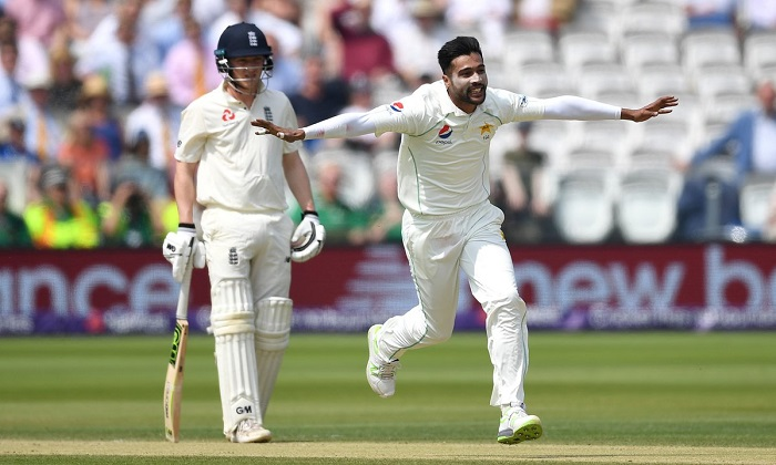 England all out for 242, Pakistan require 64 runs to win