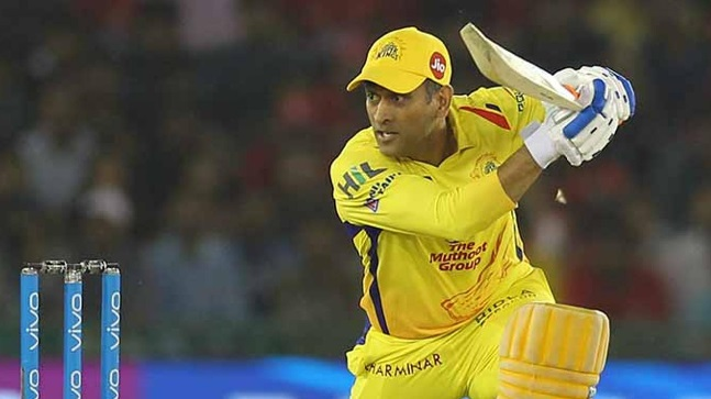 MS Dhoni need 26 runs to complete 4000 runs in IPL