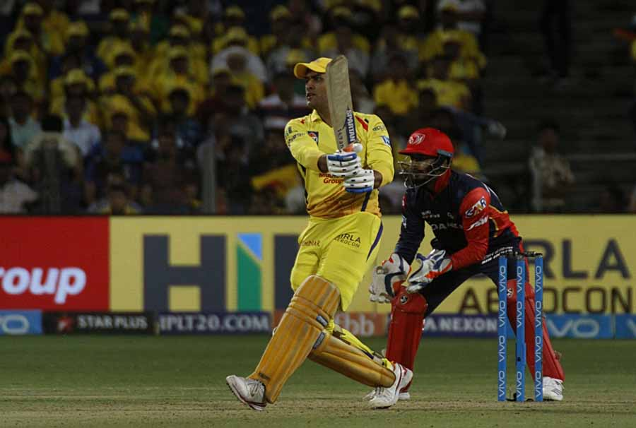 MS Dhoni Of Chennai Super Kings Images in Hindi