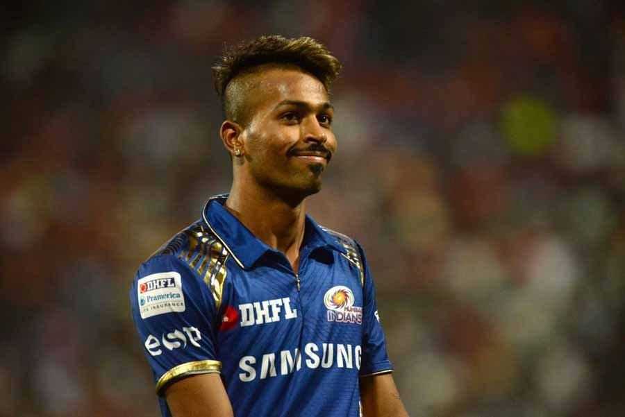 Mumbai Indians Hardik Pandya During An IPL 2018 Images