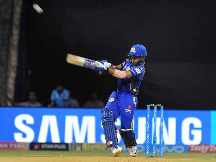Mumbai Indians Ishan Kishan In Action During An IPL 2018 Match Images