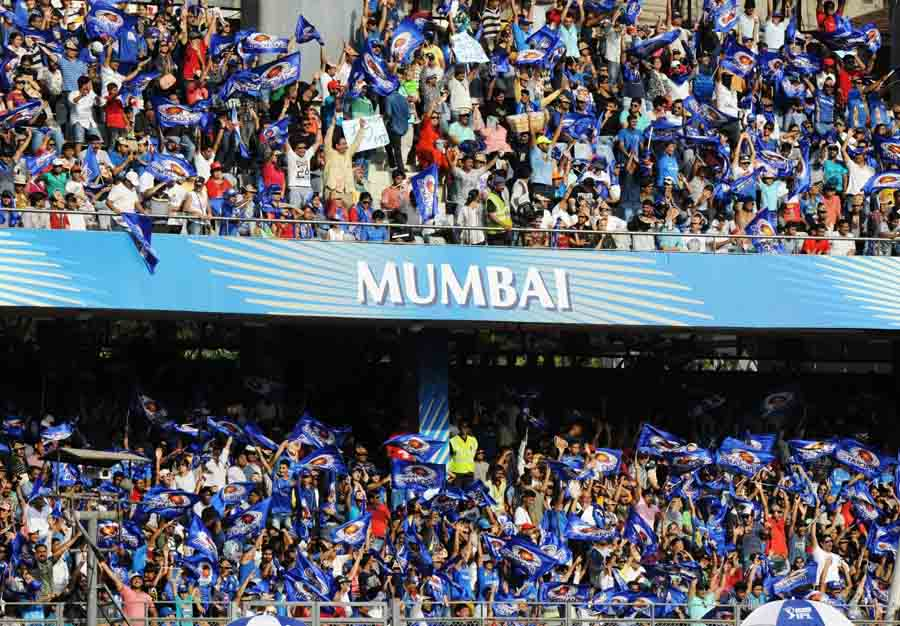 Mumbai Indians Fans During An IPL 2018 Images