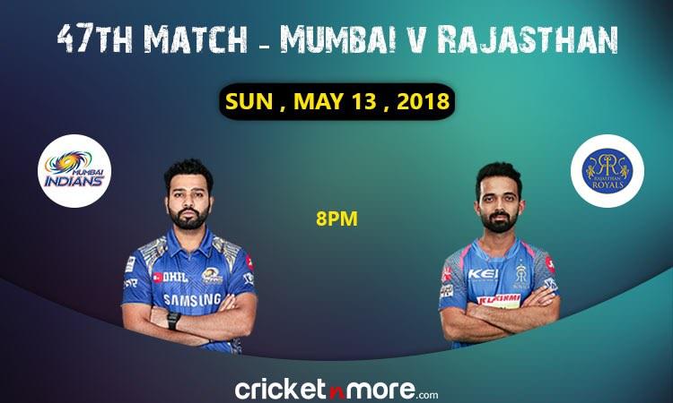 Mumbai vs Rajasthan
