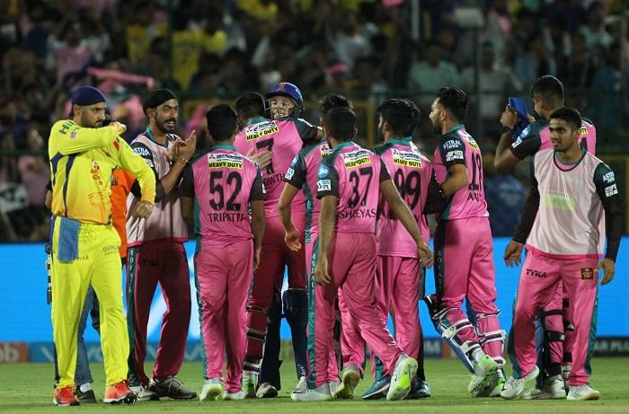 Indian Premier League 2018 Points table after 43rd Match