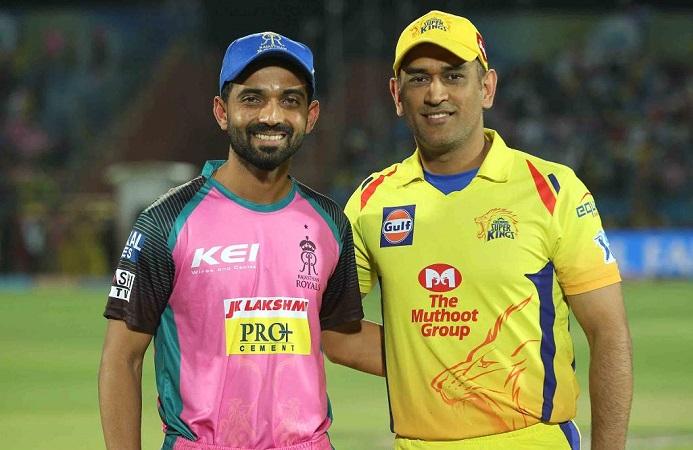 Chennai Super Kings opted to bat first vs Rajasthan Royals