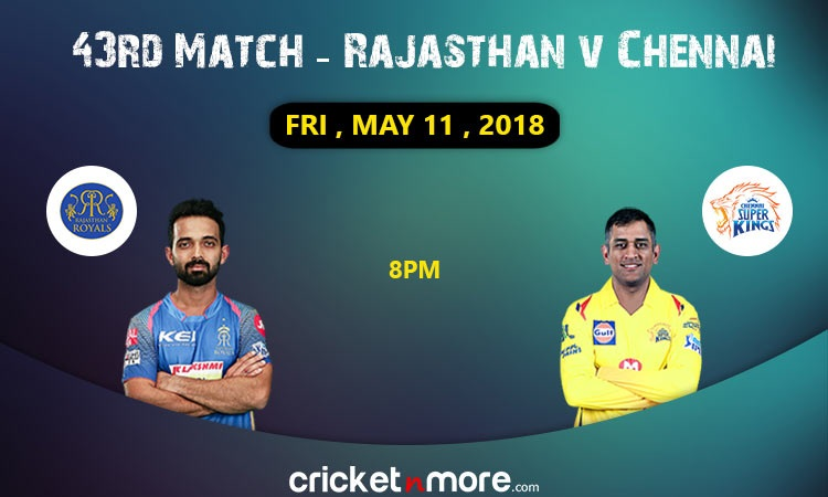 Rajasthan Royals to face Chennai Super Kings in do-or-die game