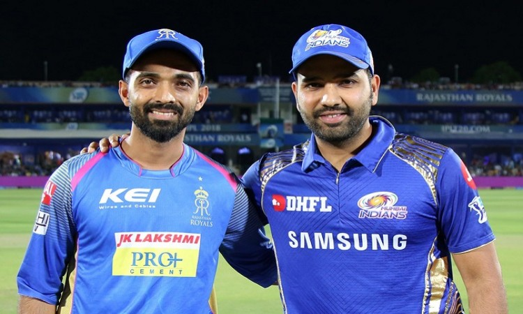 Rajasthan Royals opted to bowl first against Mumbai Indians