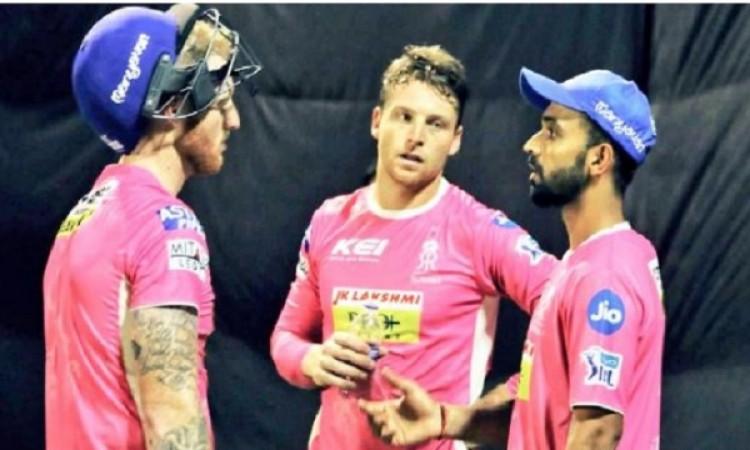 सीएसके के खिलाफ मैच में राजस्थान रॉयल्स की टीम पिंक जर्सी में खेलने उतरेगी, जानिए खास वजह Images