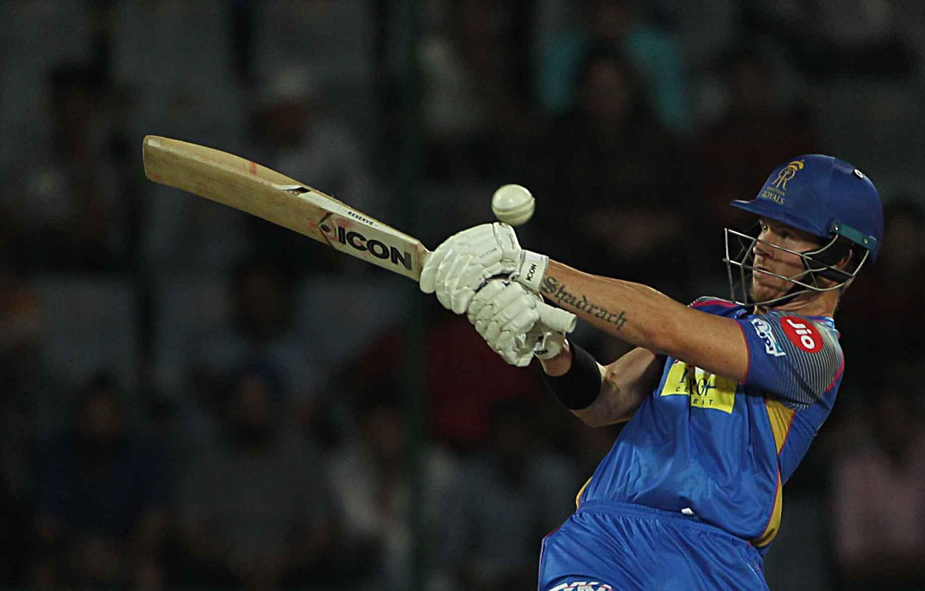 आईपीएल 2018 के दौरान राजस्थान रॉयल्स डीएआरसी एक्शन इन एक्शन फोटो