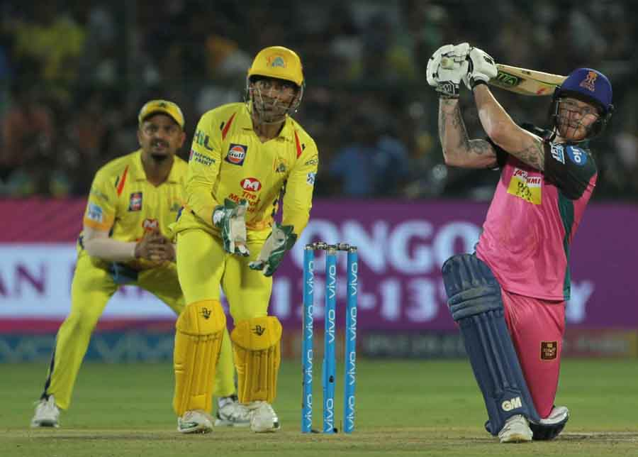 Rajasthan Royals Ben Stokes In Action During An IPL 20181 Images in Hindi