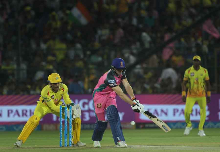 Rajasthan Royals Jos Buttler In Action During An IPL 20181 Images