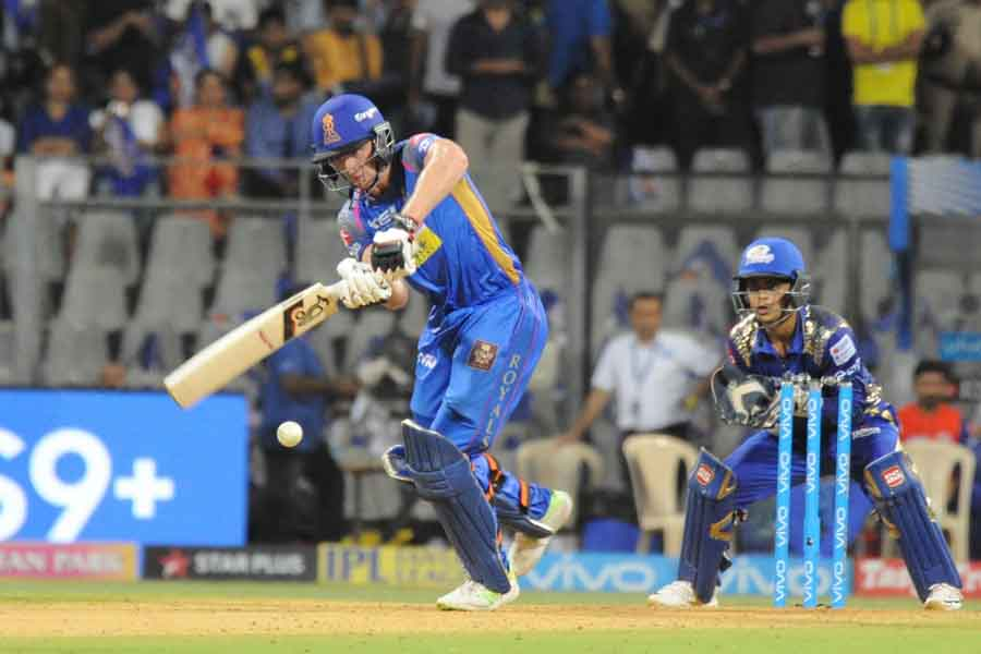 Rajasthan Royals Jos Buttler In Action During An IPL Match 20181 Images in Hindi