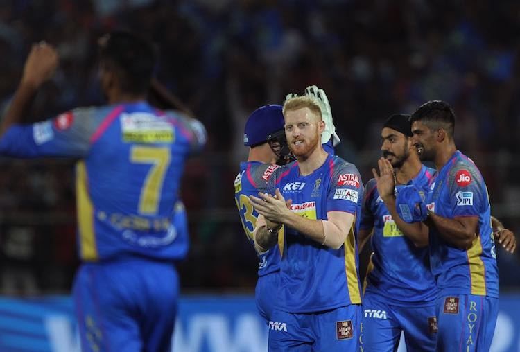Rajasthan Royals beat Kings XI Punjab by 15 runs