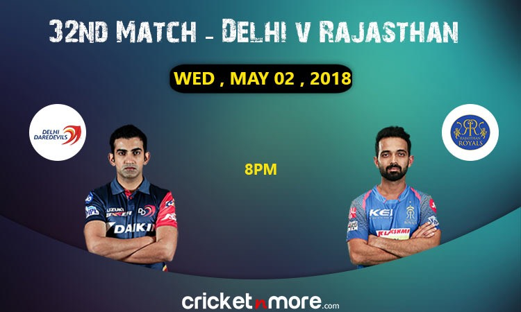 Rajasthan vs Delhi