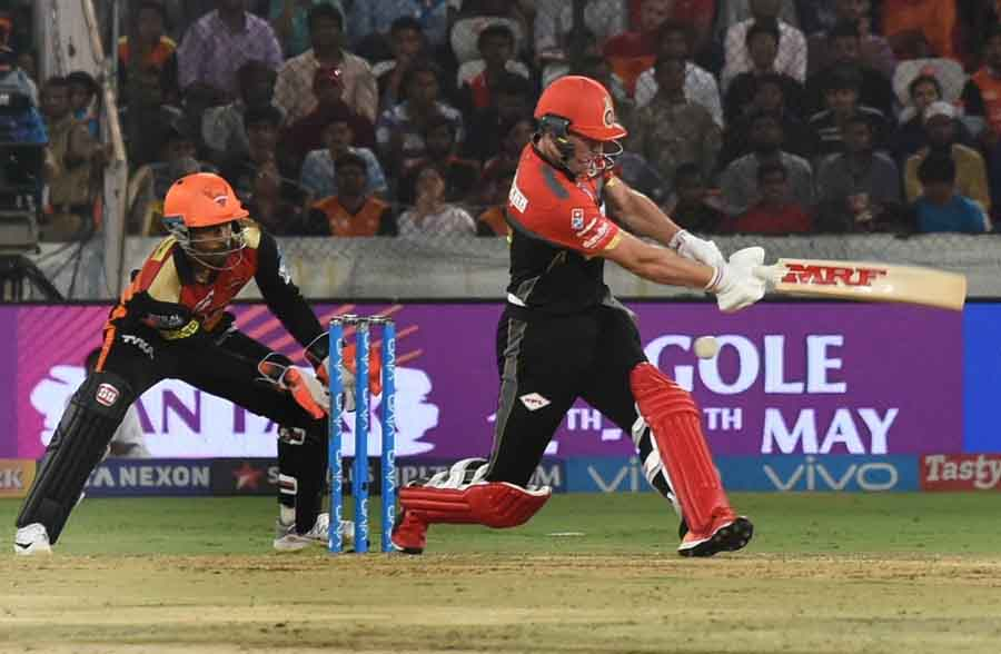 Royal Challengers Bangalores AB De Villiers In Action During An IPL 2018 Images