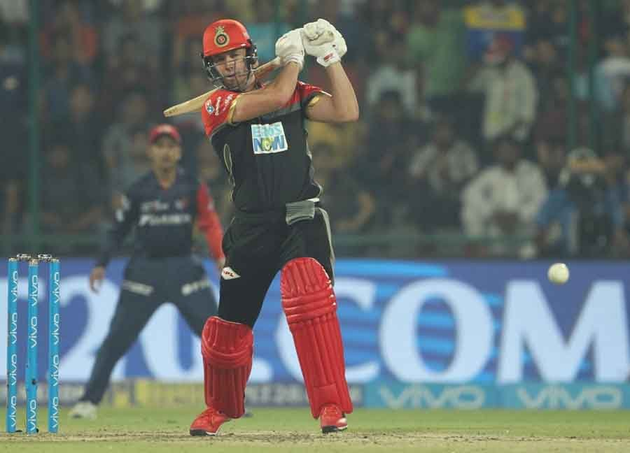 Royal Challengers Bangalores AB De Villiers In Action During An IPL 20181 Images in Hindi