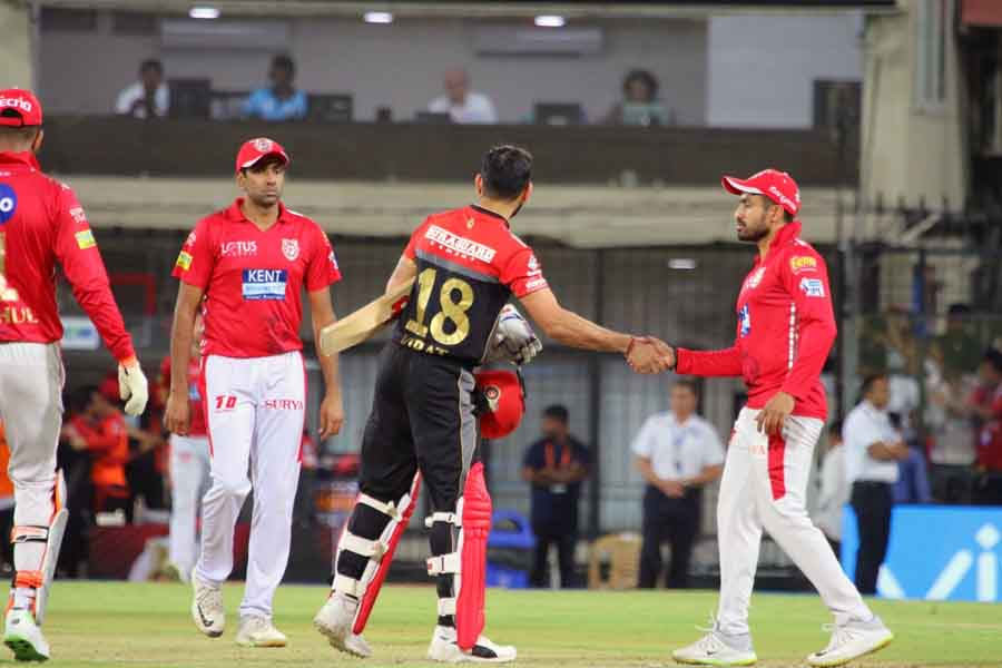 Royal Challengers Bangalores Virat Kohli After Winning An IPL 2018 Match Images