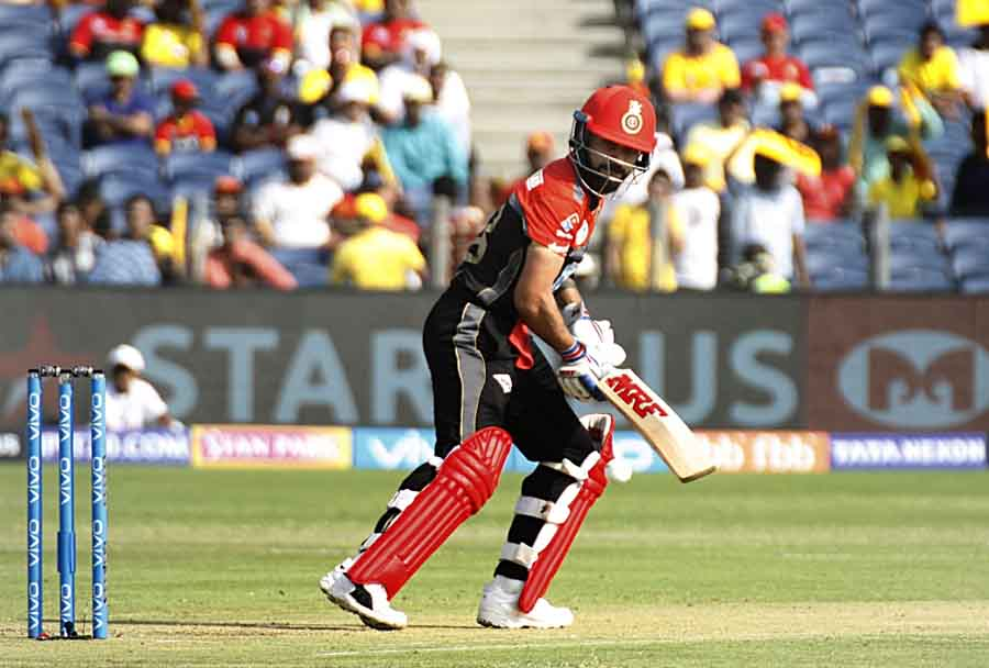 Royal Challengers Bangalores Virat Kohli In Action During An IPL 20182 Images in Hindi