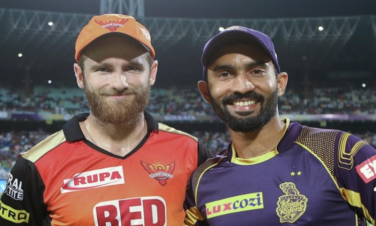 IPL-2018: Sunrisers Hyderabad won the toss and elected to bat first against Kolkata Knight Riders