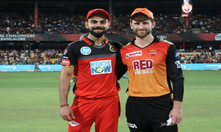 IPL 2018: Hyderabad won the toss and opted to field against Bangalore