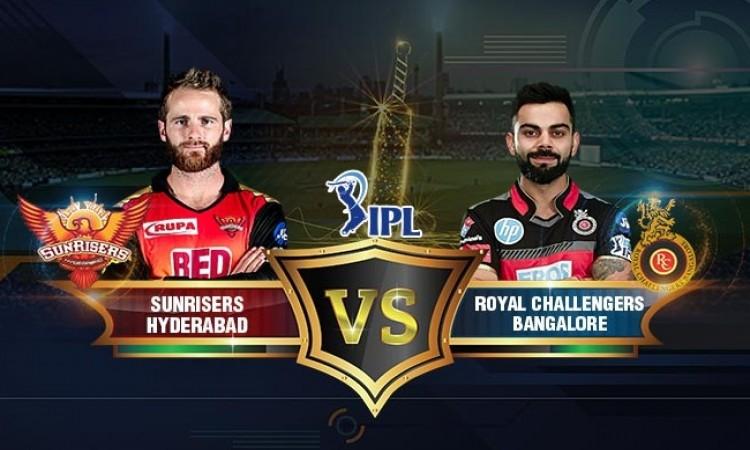 IPL 2018: RCB opt to field against SRH