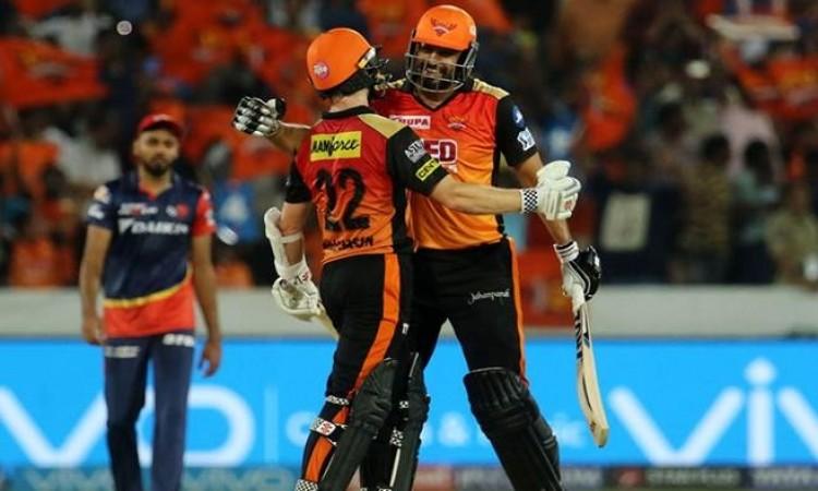 IPL 2018: Rishabh Pant's ton in vain as Sunrisers Hyderabad thrash Daredevils by 9 wickets