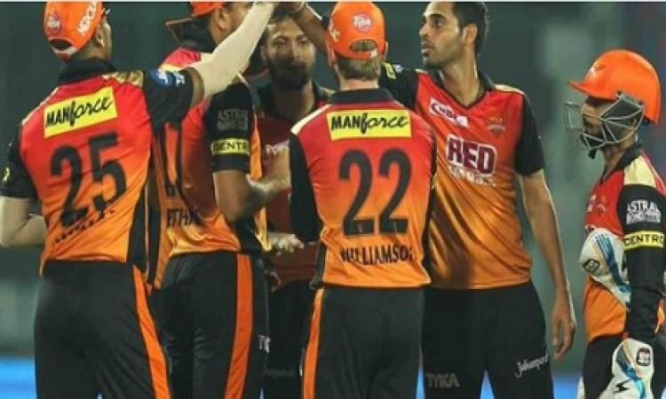 CSK के खिलाफ मैच में सनराइजर्स हैदराबाद की टीम से बाहर हुआ धमाकेदार बल्लेबाज, प्लेइंग XI Images