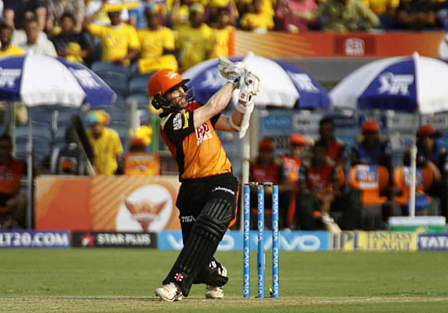 Sunrisers Hyderabads Kane Williamson In Action During An IPL 20182 Images in Hindi