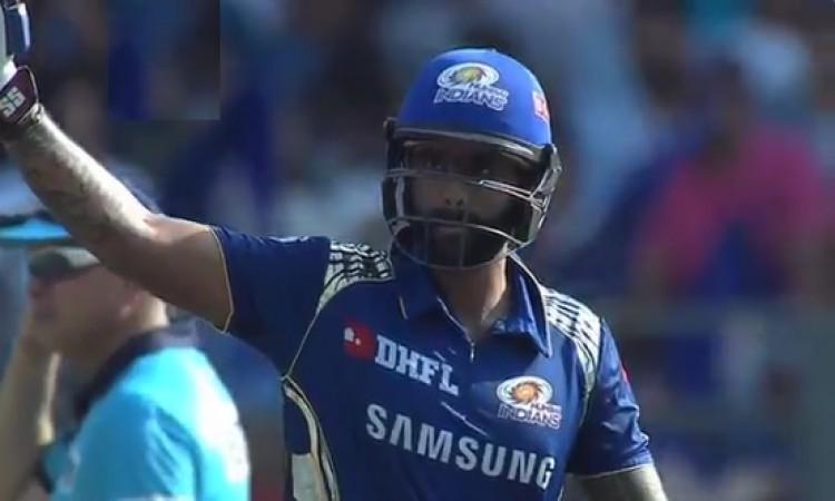 मुंबई इंडियंस ने केकेआर को दिया 182 रनों का टारगेट, सूर्य कुमार यादव का अर्धशतक Images