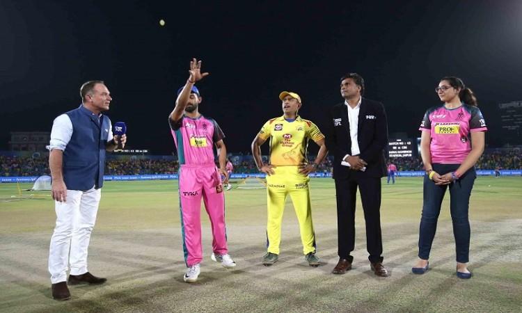 Chennai Super Kings vs Rajasthan Royals Match 43 Live Updates