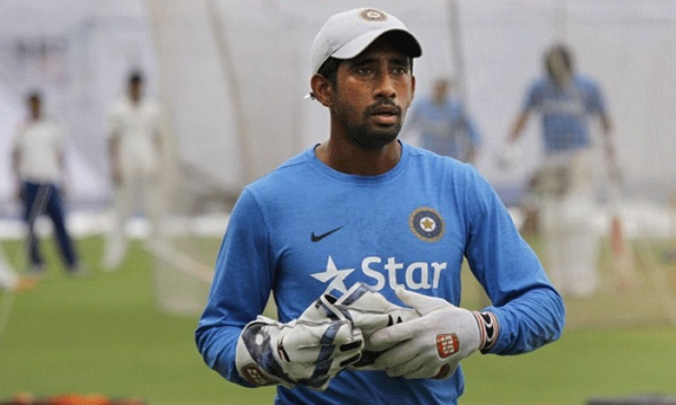 Injured Wriddhiman Saha faces race against time to be fit for Afghanistan Test